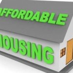 Affordable housing in green